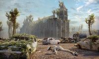 paris apocalypse 3D model