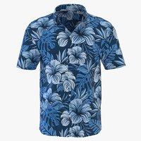 3D model man short sleeve shirt