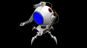 3D robotsphere robot sphere model