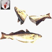 fish whiting games 3D model