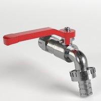 3D outdoor faucet