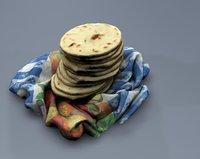 3D model tortillas