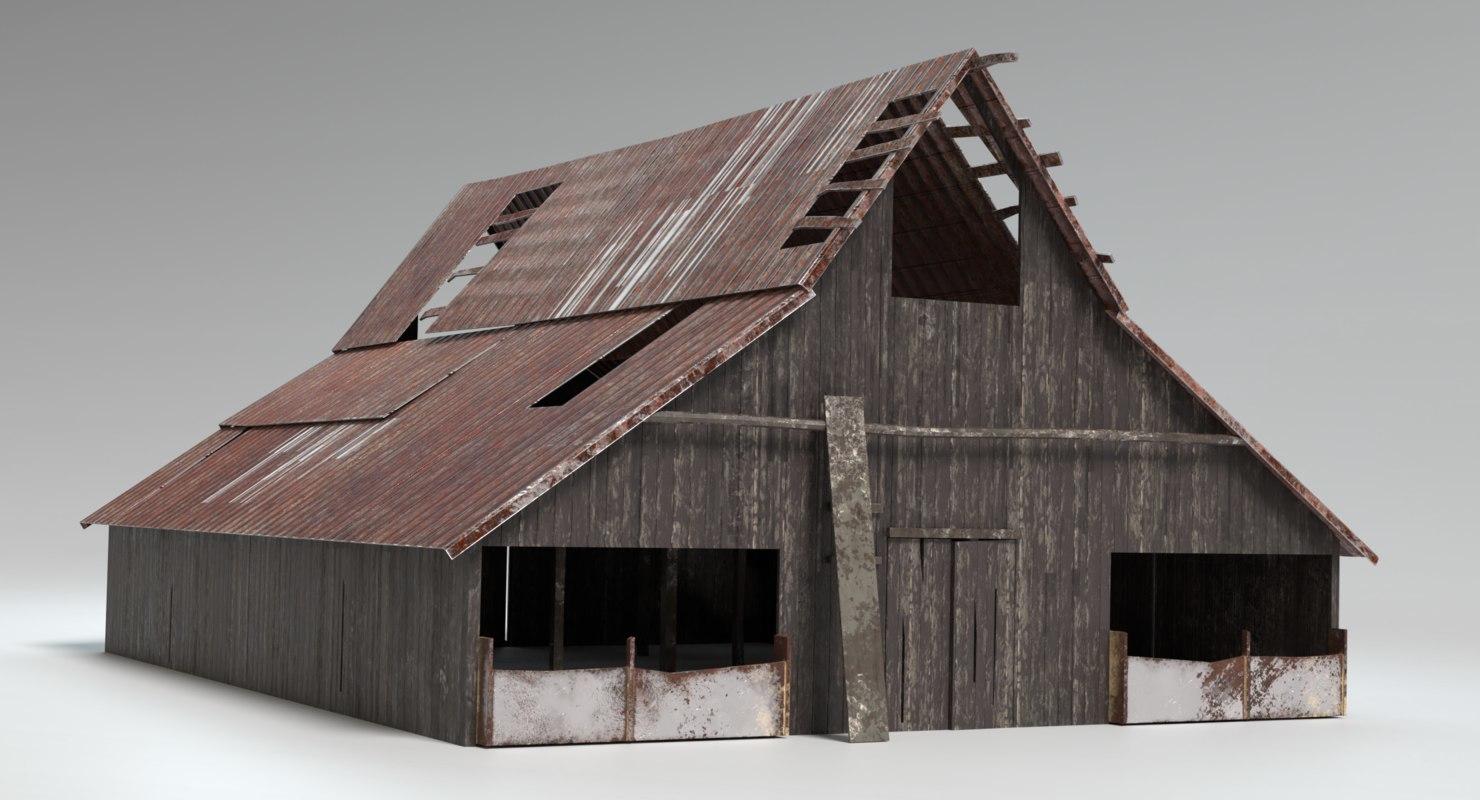 rustic farm sets model