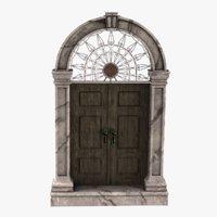 3D entry door