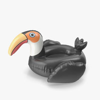 inflatable toucan 3D