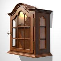 old wall shelf 3D model