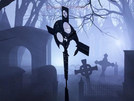 gothic cross 3D model