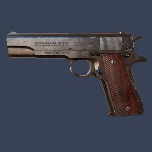 3D model m1911 colt