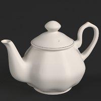 porcelain teapot 2 model