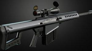 m82a1 low-poly ready 3D