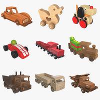 3D toys child children model