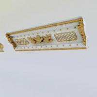 3D patterned plaster