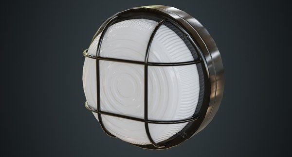 bulkhead light 2a 3D