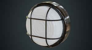 bulkhead light 2a 3D