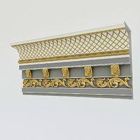 3D classic patterned model