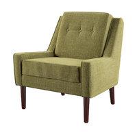 Linen Blend Rudy Upholstered Armchair