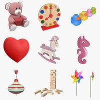toys child children 3D