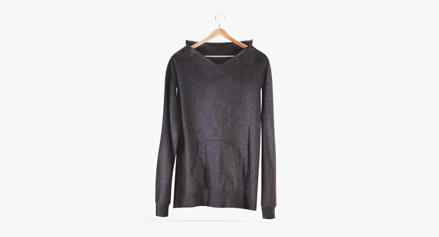 3D sweatshirt pbr model