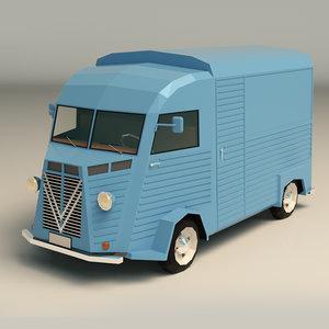 3D van transporter model