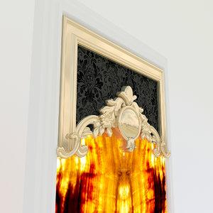 onix panel wall 3D model