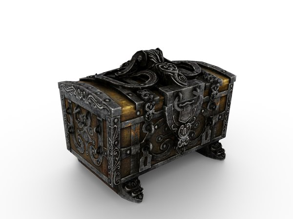 old metal chest model