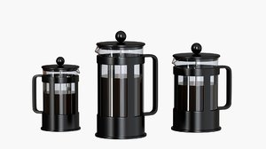 3D model french press