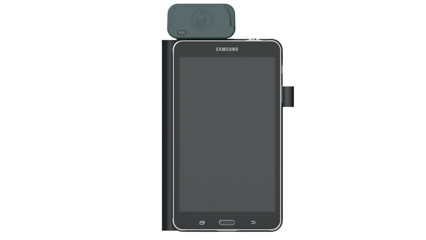 3D handheld pos model