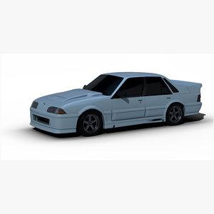 1990 vl commodore 3D model