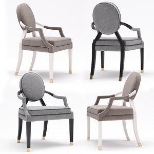 tosconova brunelleschi chair 3D model