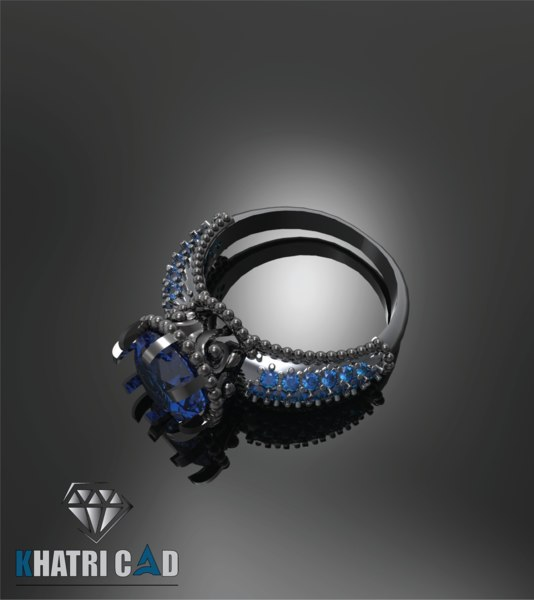 3D indian ring