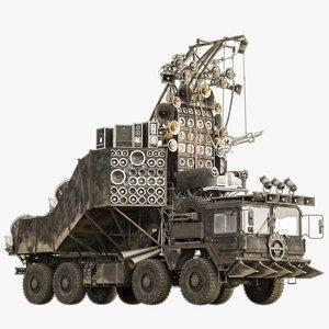 doof wagon 3D model