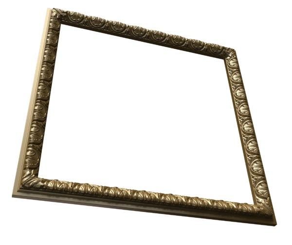 2 mirror frame classic 3D model