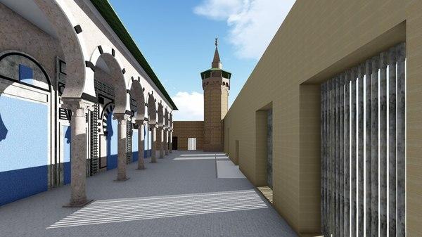 mosquee mouradite 3D