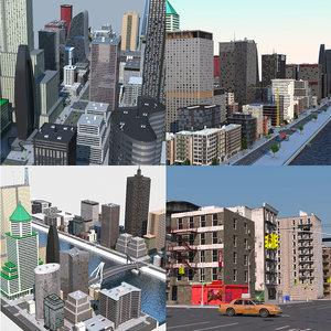 3D city colection model
