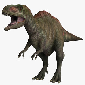 3d max acrocanthosaurus