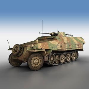 3D sd kfz 251 17