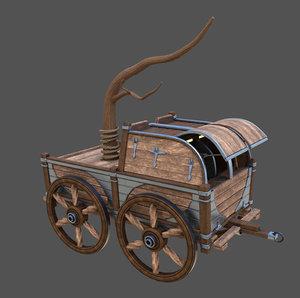 car caravan 3D