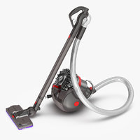 dyson big ball vacuum cleaner 3D model