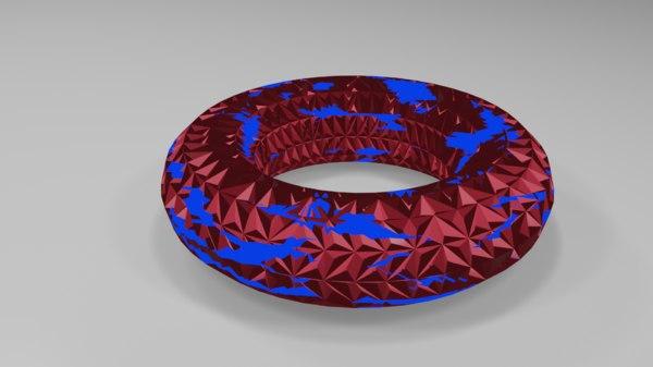 3D ring blender 2 model