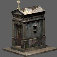 Weathered Leaking Mausoleum