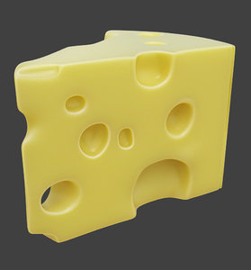 cheese food 3D model