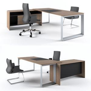 executive table codutti avita 3D