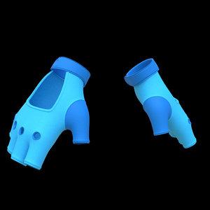 3D cartoon glove