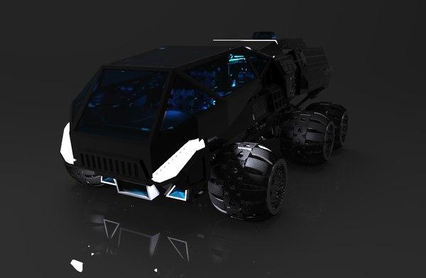 3D remake nasa concept mars rover