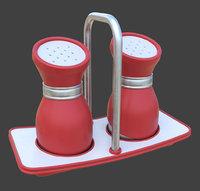 3D Salt Shaker