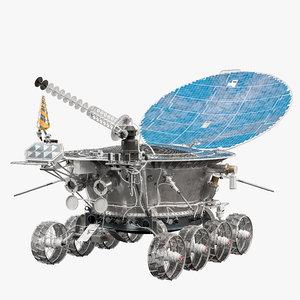 lunokhod 1 spacecraft model