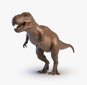 arnold tyrannosaurus animations 3D model