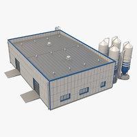 3ds industrial building