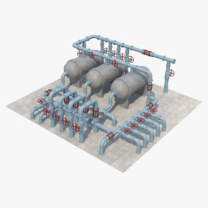 3D pipe industrial