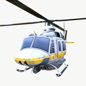 3D helicopter lacf 01